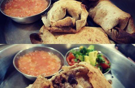 מאפה בשר טחון בסגנון מקסיקני / הודי