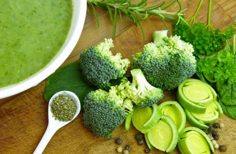 מרק ירקות מופחת פחמימות
